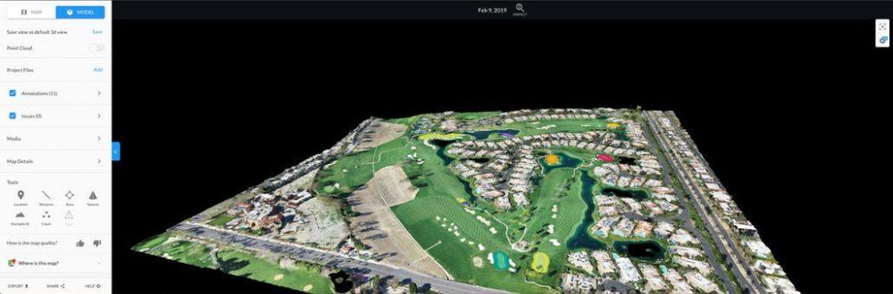 drone-golf-modle